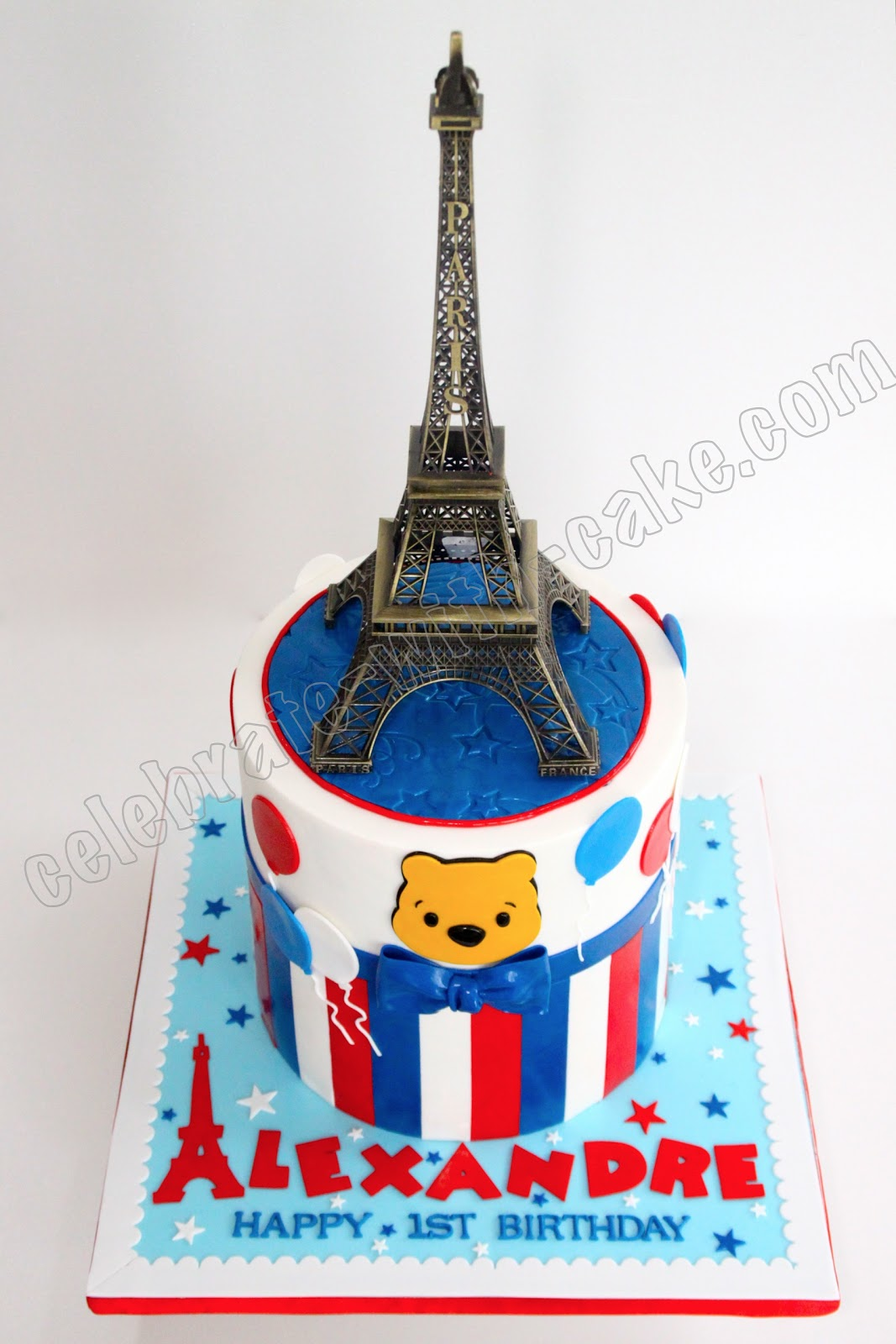 Paris Eiffel Tower Cake