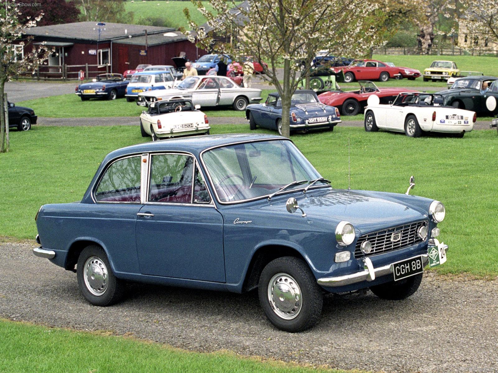 Hình ảnh xe ô tô Daihatsu Compagno Berlina 800 1965 & nội ngoại thất