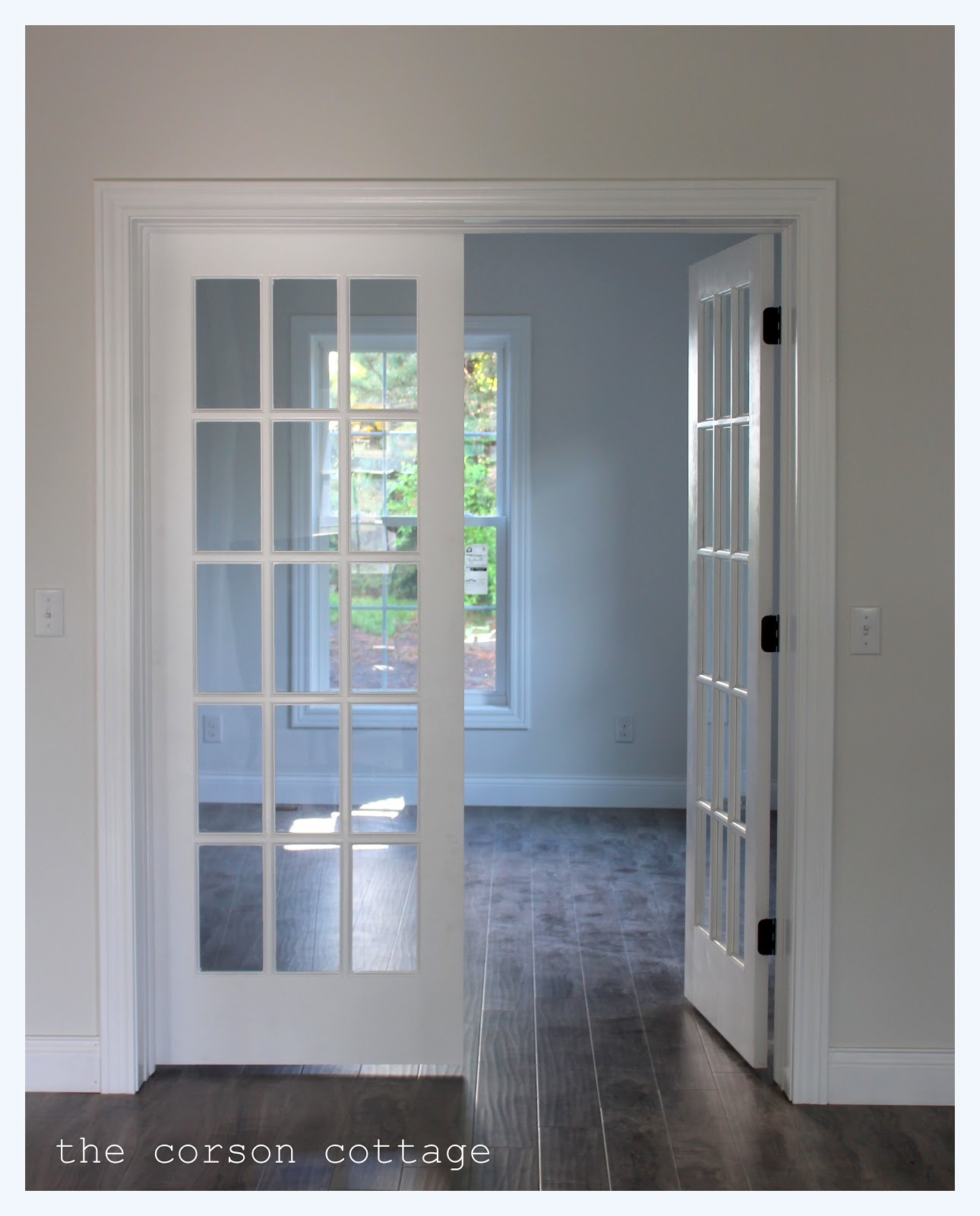 Interior French Doors 1290 x 1600
