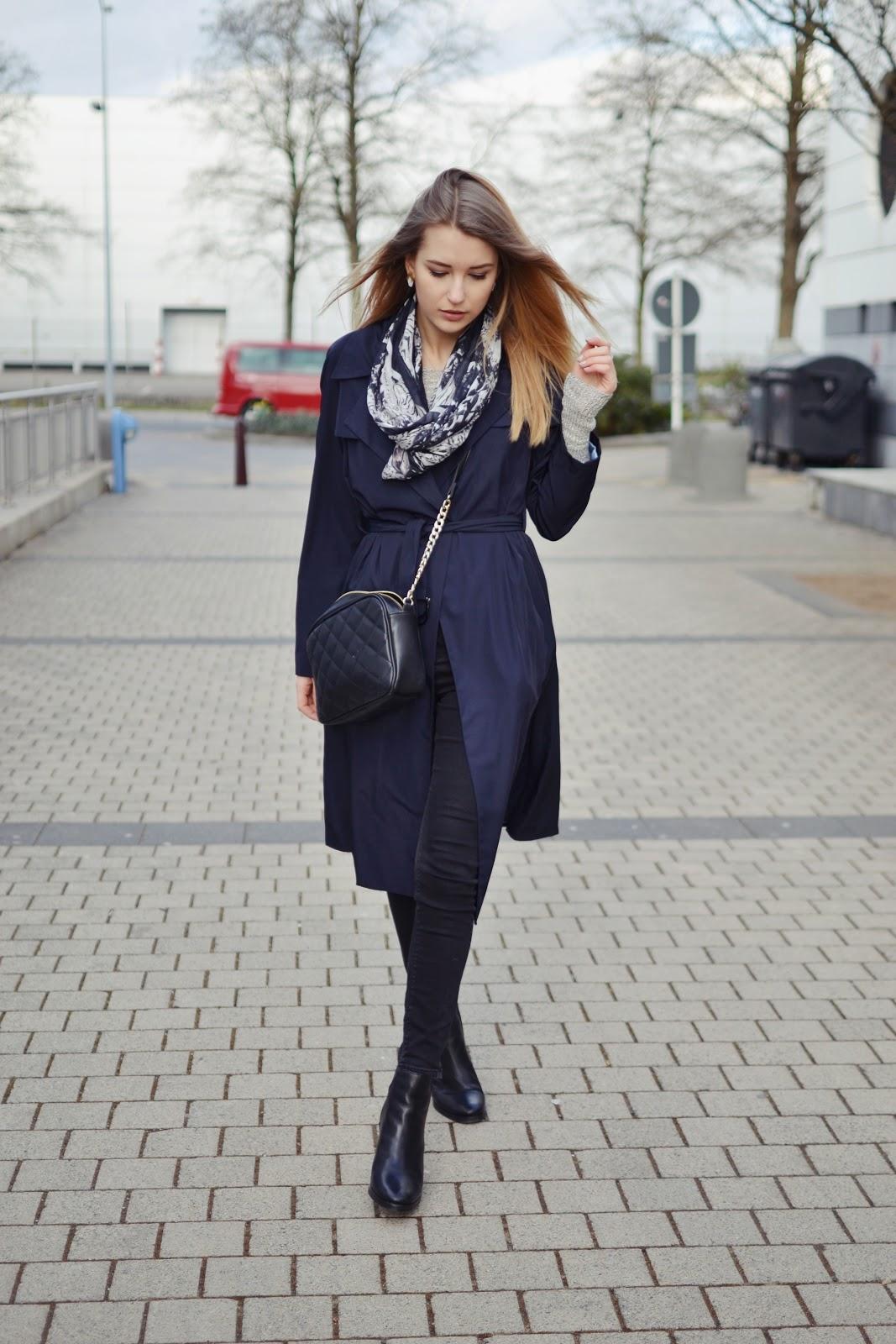 Zara navy mac ss15