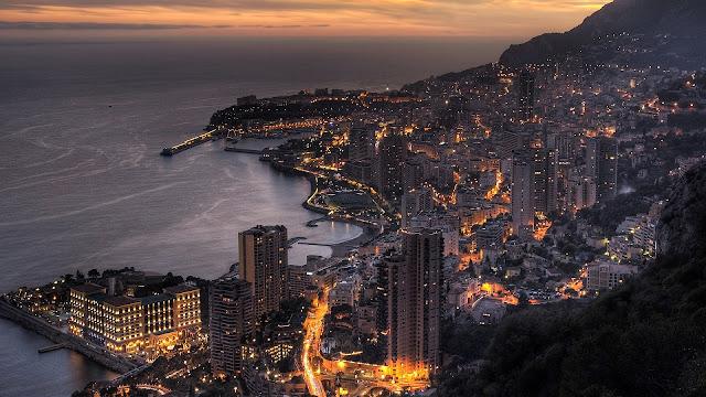 Monaco Evening HD Wallpaper