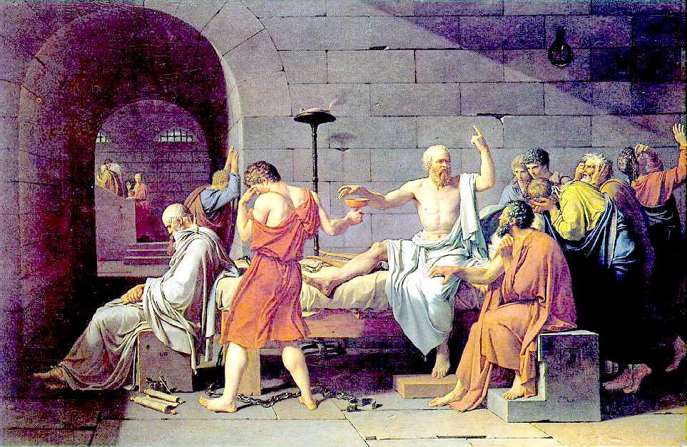 socrates' view of death