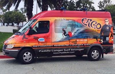 PaddleAir Team Ergo Demo Van