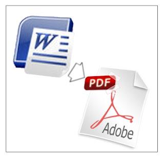 Cara Mengubah Format Word Menjadi Pdf