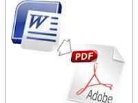 Langkah Mudah Membuat File PDF Dengan Microsoft/Libre/OpenOffice