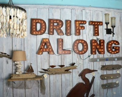 drift along natural coastal designs