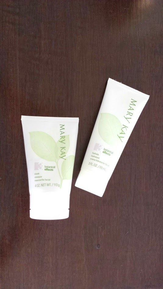 mary kay linha botanical effects
