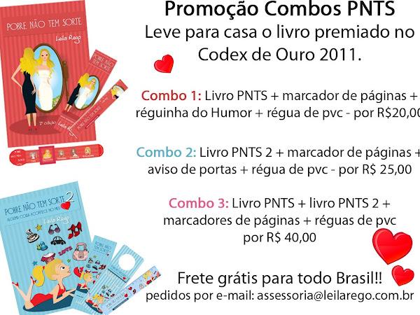 Promoção dos livros da Leila Rego
