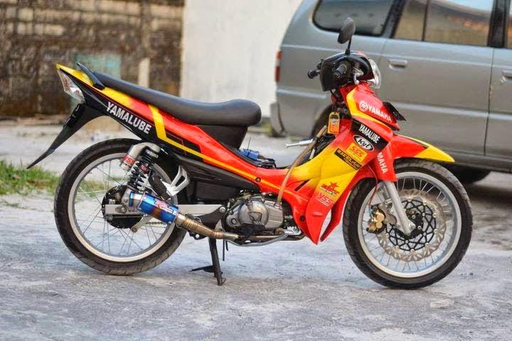 konsep modifikasi motor yamaha jupiter z