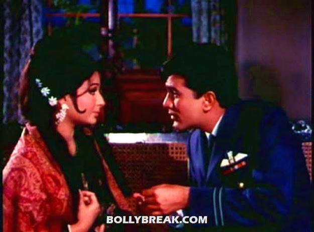 Rajesh Khanna as Pilot in Aaradhana  - (10) - Remembering Rajesh Khanna - First Bollywood Superstar