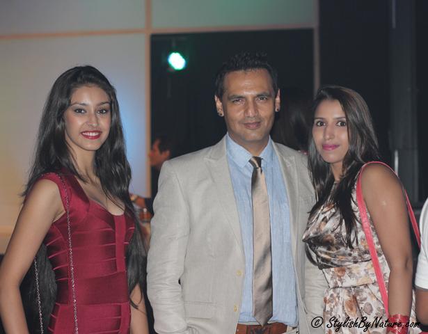 Marc Robinson, Navneet Kaur Dhillon (Femina Miss India)