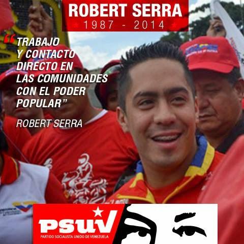 Robert Serra, socialista venezuelano