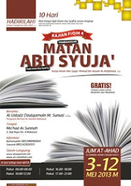 """[Selesai]  Daurah Fiqih IV """"Matan Abu Syujâ'"""" – Makassar"""