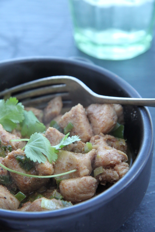 Curry z kurczaka bardzo łatwe