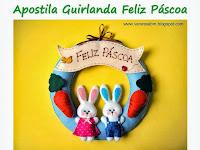 Apostila Guirlanda Feliz Páscoa