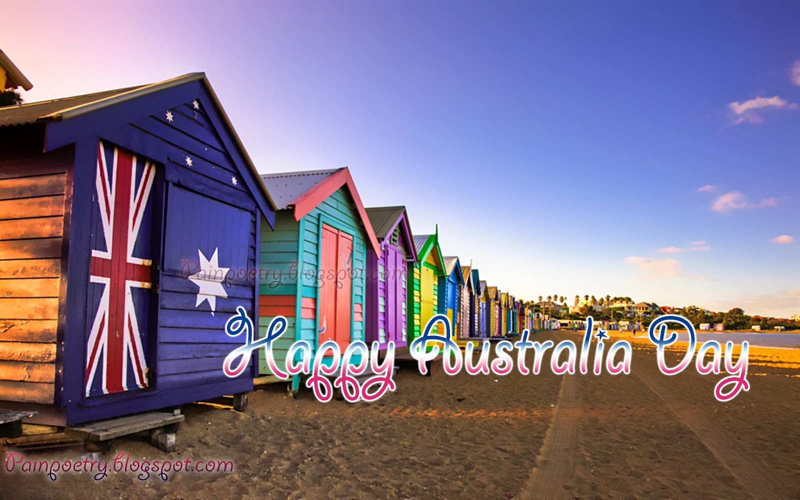 Happy-Australia-Day-Flag-Print-On-Huts-Image-Wide