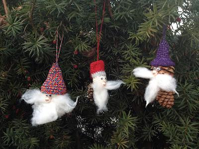 Szyszkowe Mikołaje - przepis