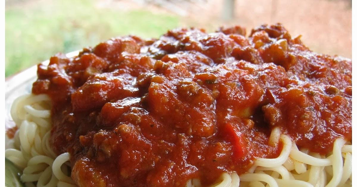 Sauce spaghetti de Marilou