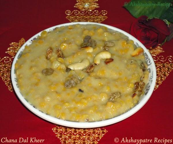 kadlebele payasa in a serving bowl