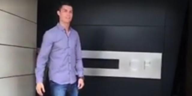 Cristiano Ronaldo nous fait visiter son intérieur à Madrid
