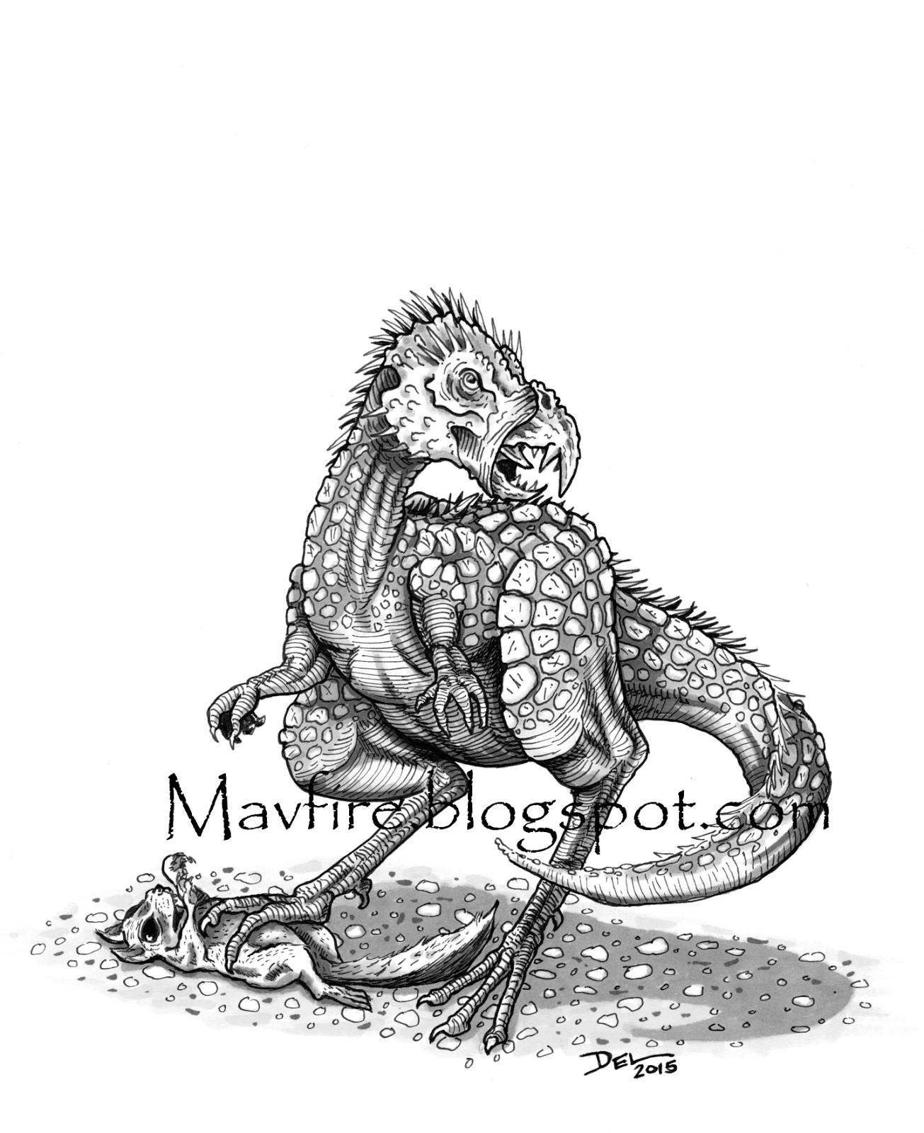 Pegomastax Dinosaur Drawing Del Teigeler