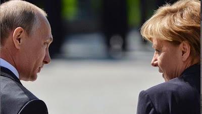 Colloqui di Putin e Merkel a Mosca sulla crisi in Ucraina