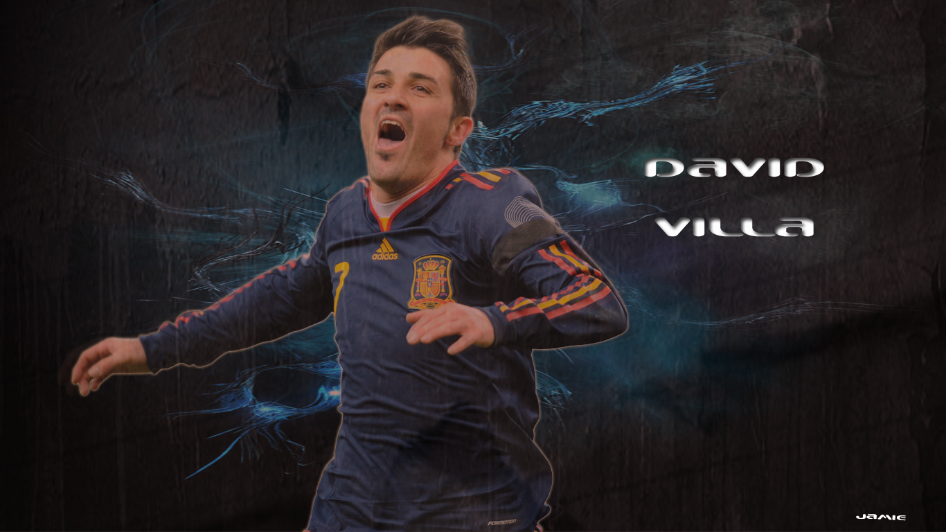 David villa fcb wallpaper