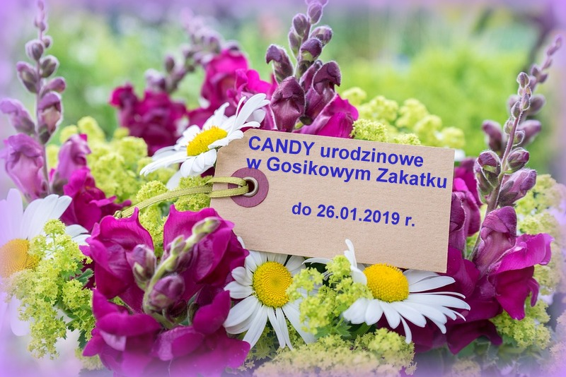 Urodzinowe Candy w Gosikowym Zakątku