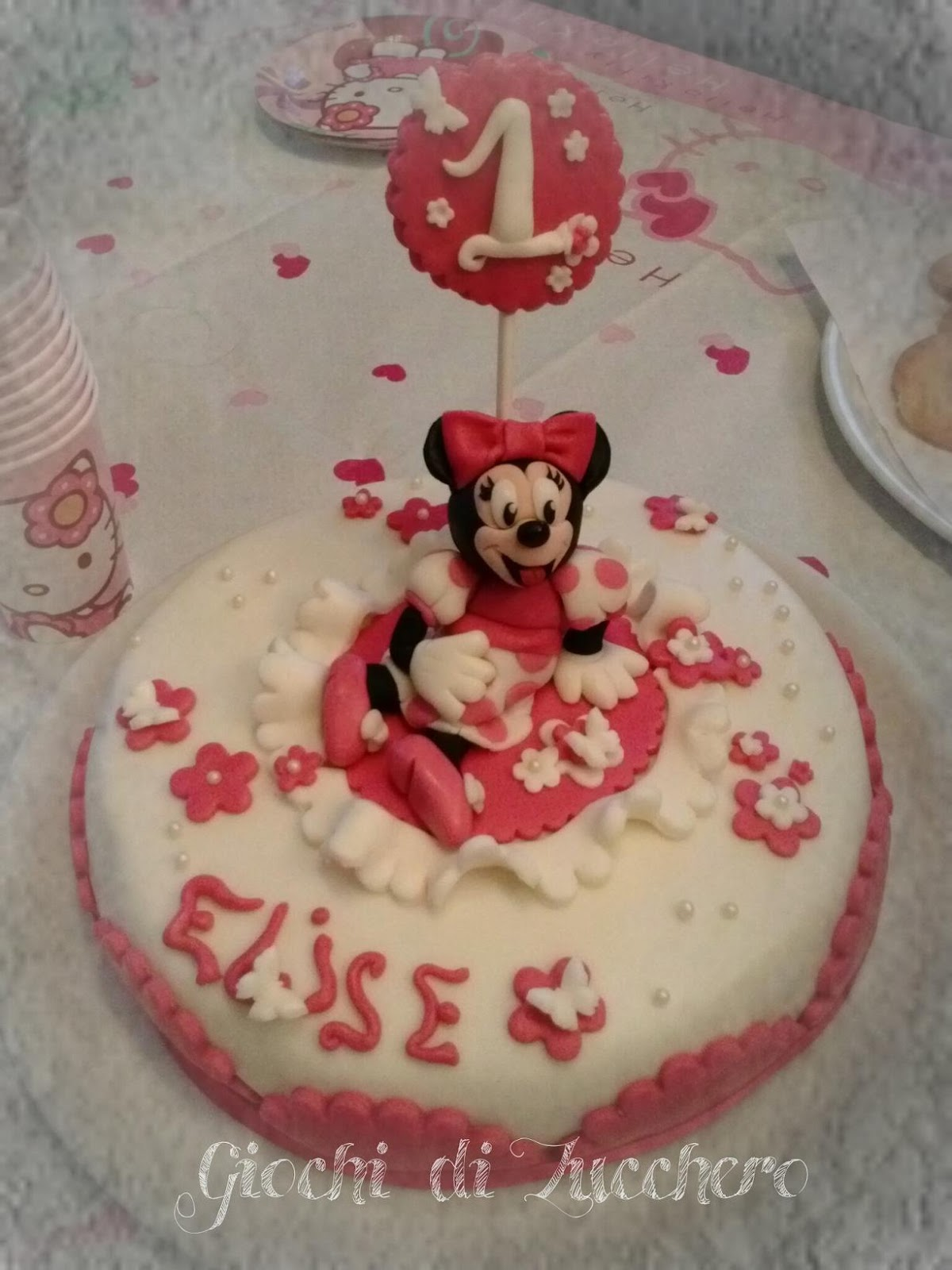Estremamente Torta Minnie – Giochi di Zucchero DP92
