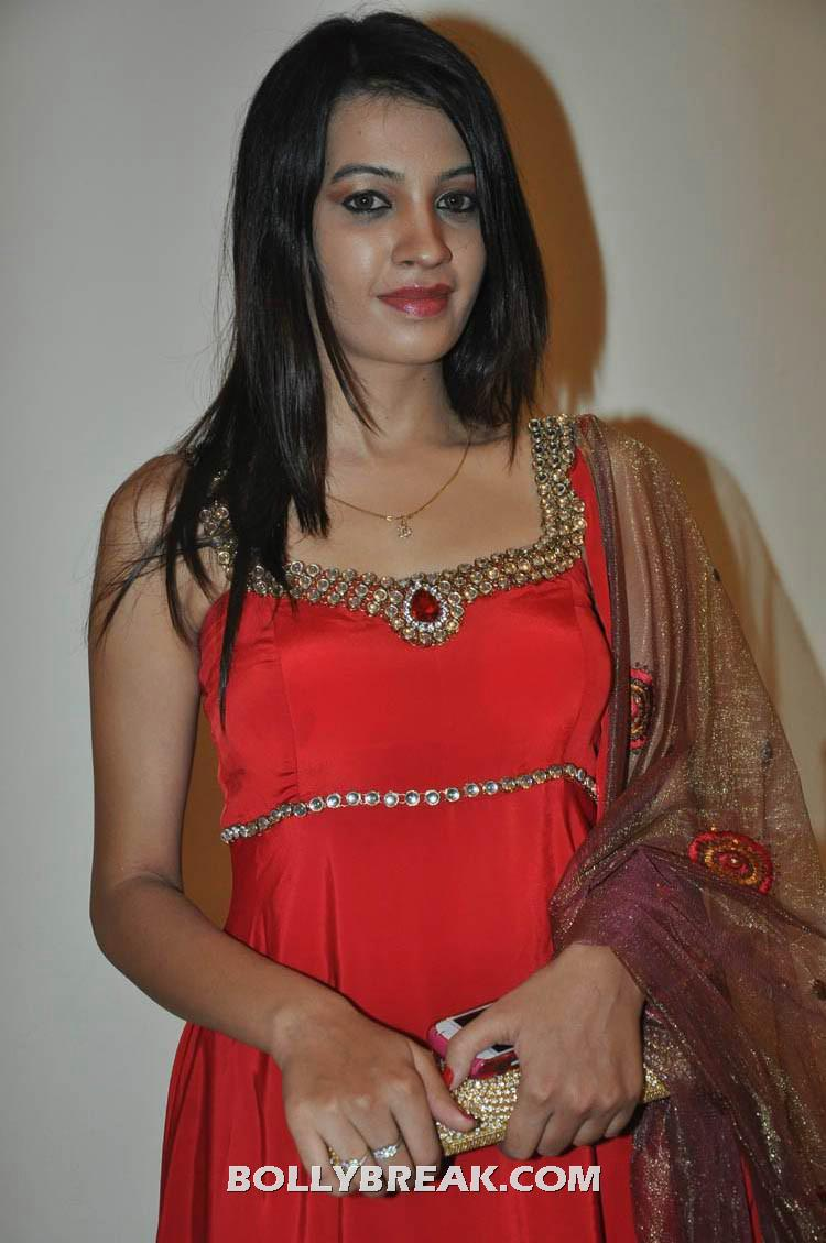 , Nandini Rai Red Dress Photos