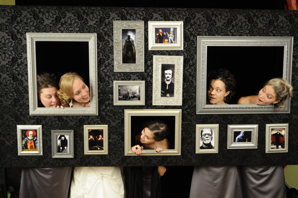 Melissa Amp Justin S Booo Tiful Halloween Night Wedding