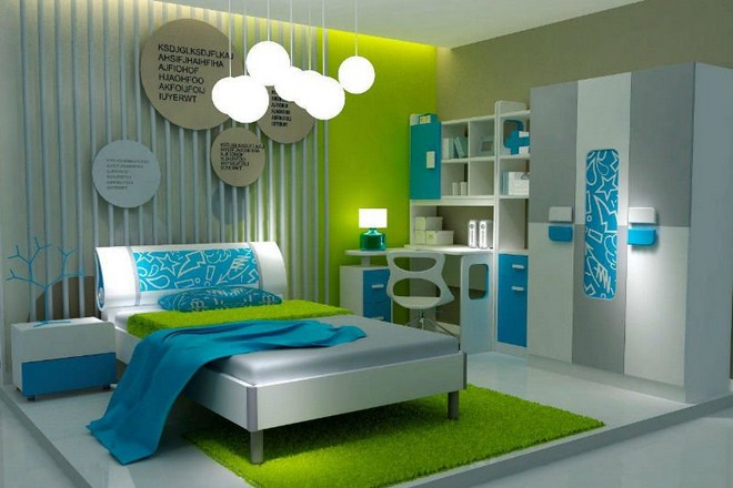 Green Bedroom Decorating Ideas For Minimalist Home