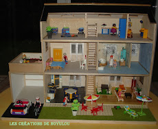 Maison pour les Playmobils