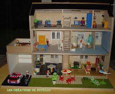 Maison pour les Playmobils