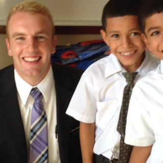 Elder Roberts and Friends