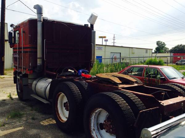 1978 kenworth k100 cabover tractor truck auto restorationice 1978 kenworth k100 cabover 350 cummins diesel 13 manual speed transmission needs tires runs good classic salem factory paint scheme great truck to publicscrutiny Images