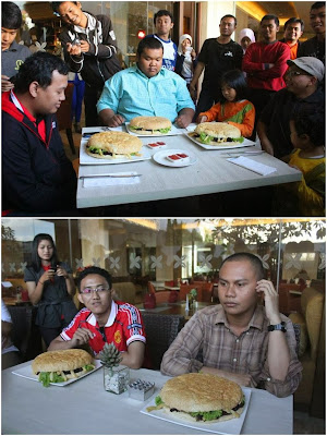 KBJ vs Goliath Burger Grand Aston Yogyakarta
