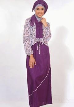 Baju gamis sederhana