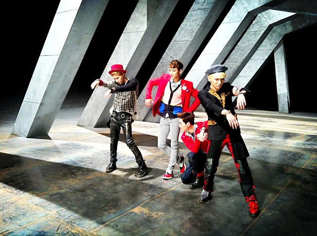 Shinee Why So Serious mv BTS image 1