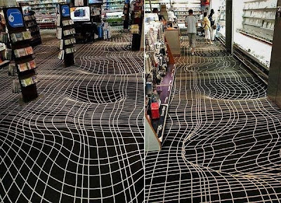 Optical Illusion carpet