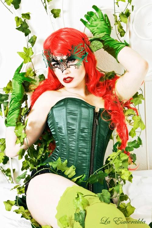Poison Ivy Cosplay By La Esmeralda