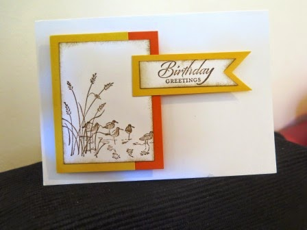 Let's start at the very beginning card scraps zena kennedy independent stampin up demonstrator