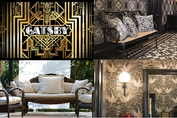 Great Gatsby style with Mokum and Catherine Martin Designs