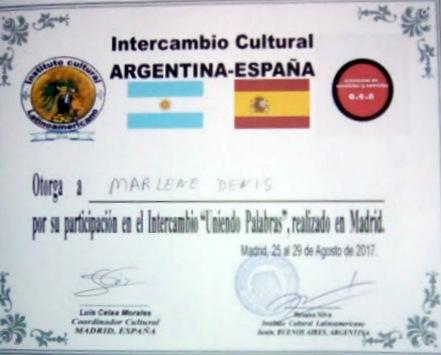 2º Encuentro Argentina-España, ICL