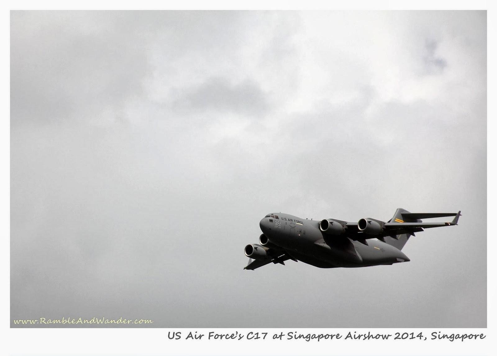 Singapore Airshow | www.rambleandwander.com