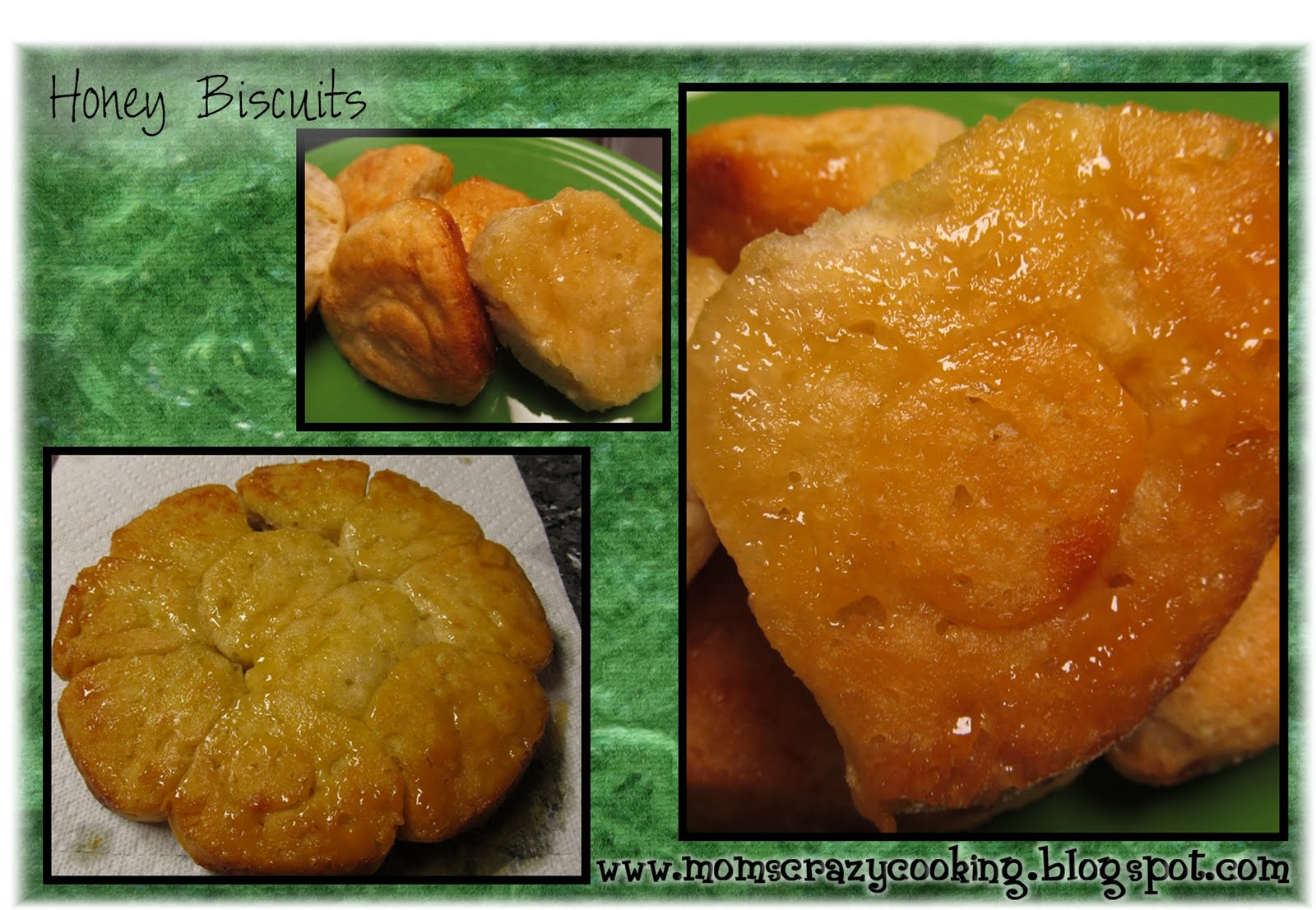 ... CRAZY COOKING: THIS WEEK'S CRAVINGS #46 (HONEY) and Honey Biscuits