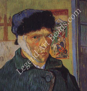 Vincent's breakdown Overwhelmed with remorse after attacking Gauguin, Van Gogh cut off a piece of his own ear and gave it to a prostitute. The next day he was committed to Arles hospital. The nightmare of insanity, from which he would never fully recover, had begun.