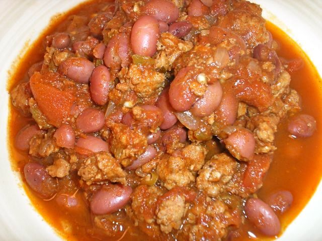 The Briny Lemon: Chorizo and Red Bean Chili