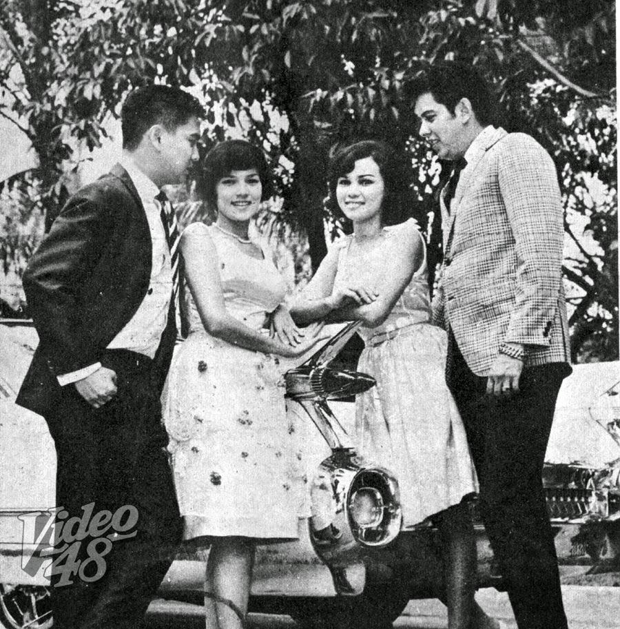 "BLANCA GOMEZ, GINA PARENO IN ""HULING-HULI SI KUMPARE NI KUMARE"" (1966"