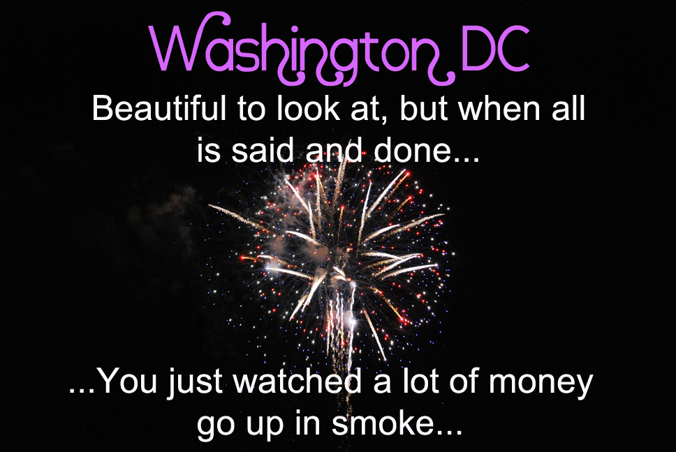 Washington; What a Town…